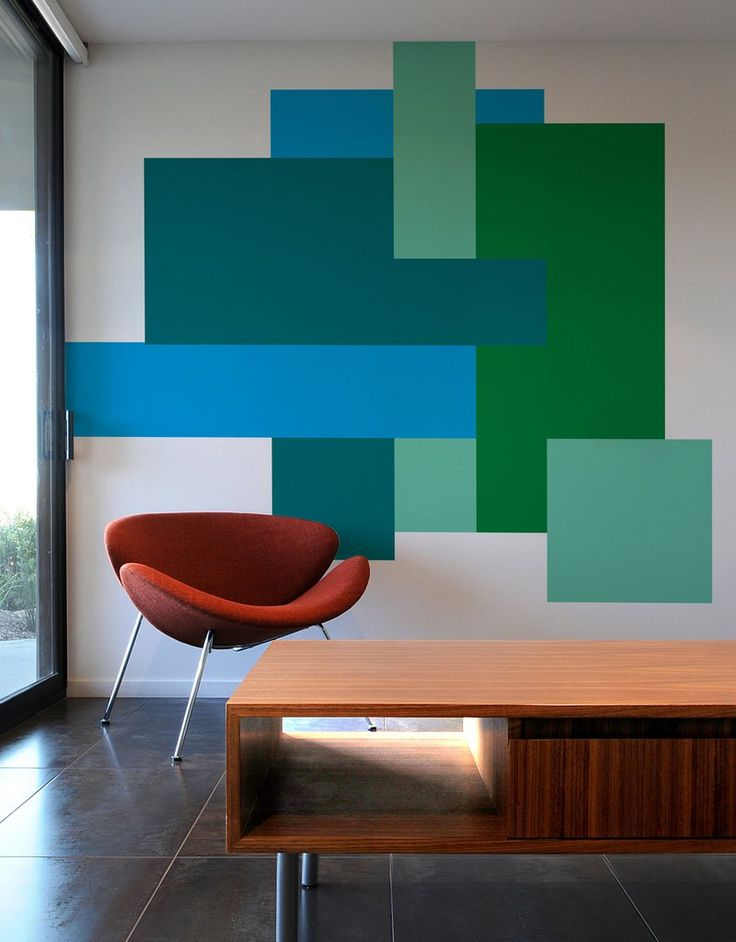the perception of your space color block parallel and color block