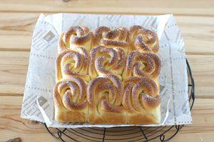 메이플 장미 쌀 빵(쌀베이킹) - 베이킹스쿨(교훈:배워서남주자)
