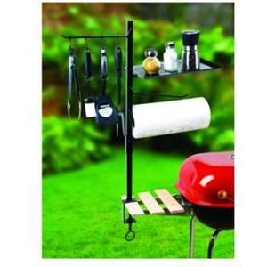 BBQ Accessory Organizer - Great Christmas gift to be ready for next summer.