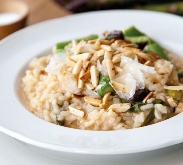 Asparagus, Spinach and Lemon Risotto