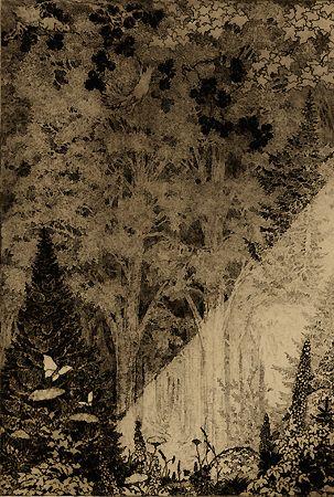 Staeger, Forest Scene