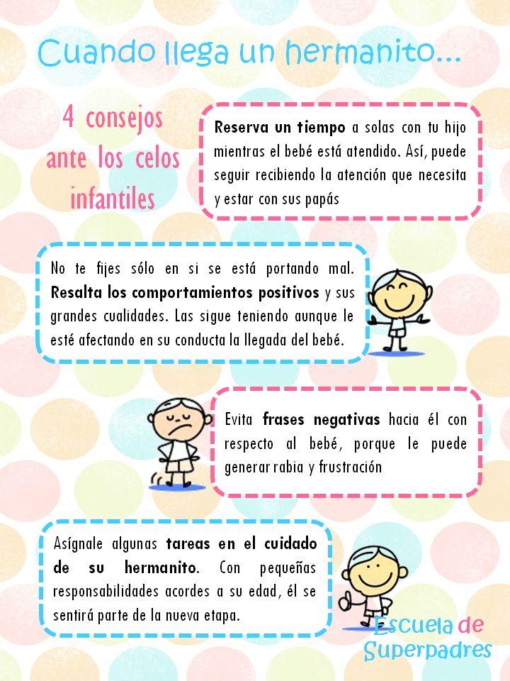 4 consejos ante los celos infantiles http://escueladesuperpadres.blogspot.com.es/