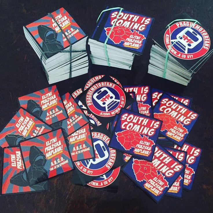 Stickers for Prague Motorfans