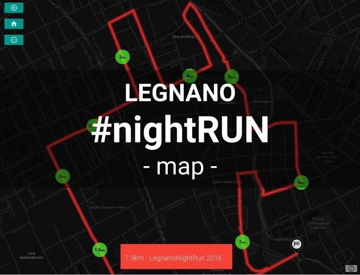 7.5km - LegnanoNightRun 2016