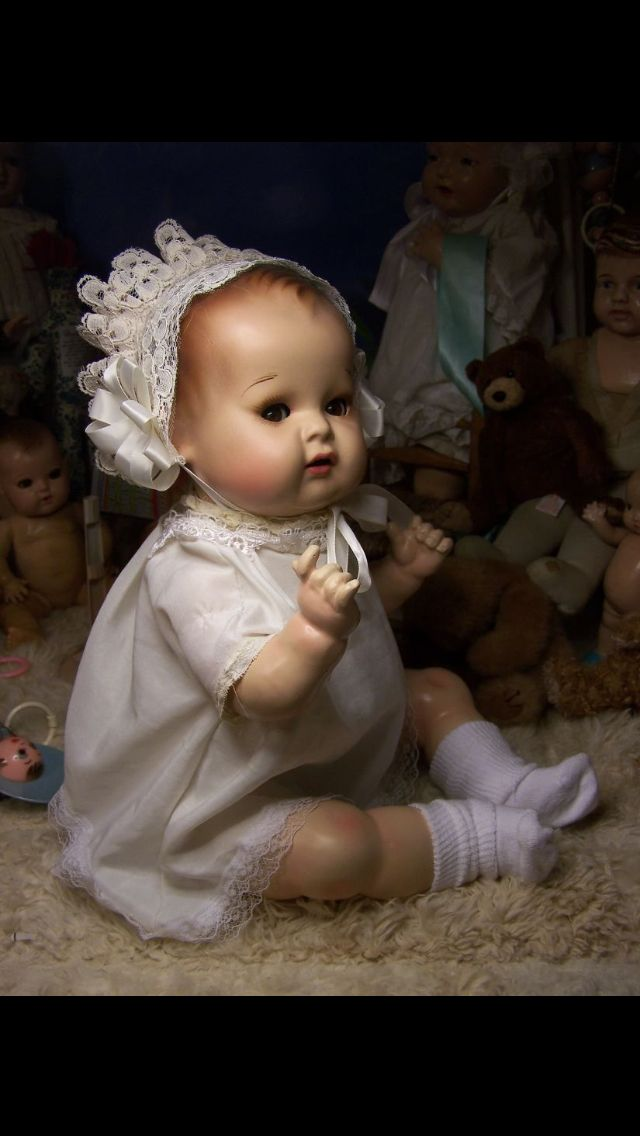 Swanky Kitty Doll, pic from eBay That women is a very artistic, talented person.