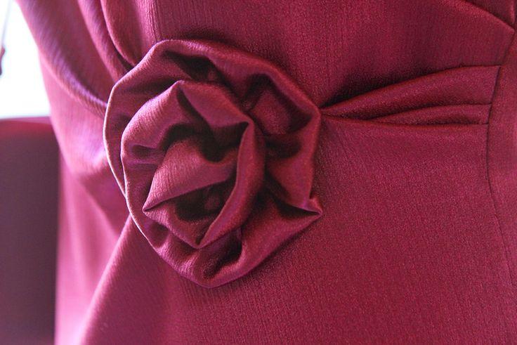 Vintage Kostüm 30er 40er  rot Gr. 38 von Avantgarde-Plus auf DaWanda.com