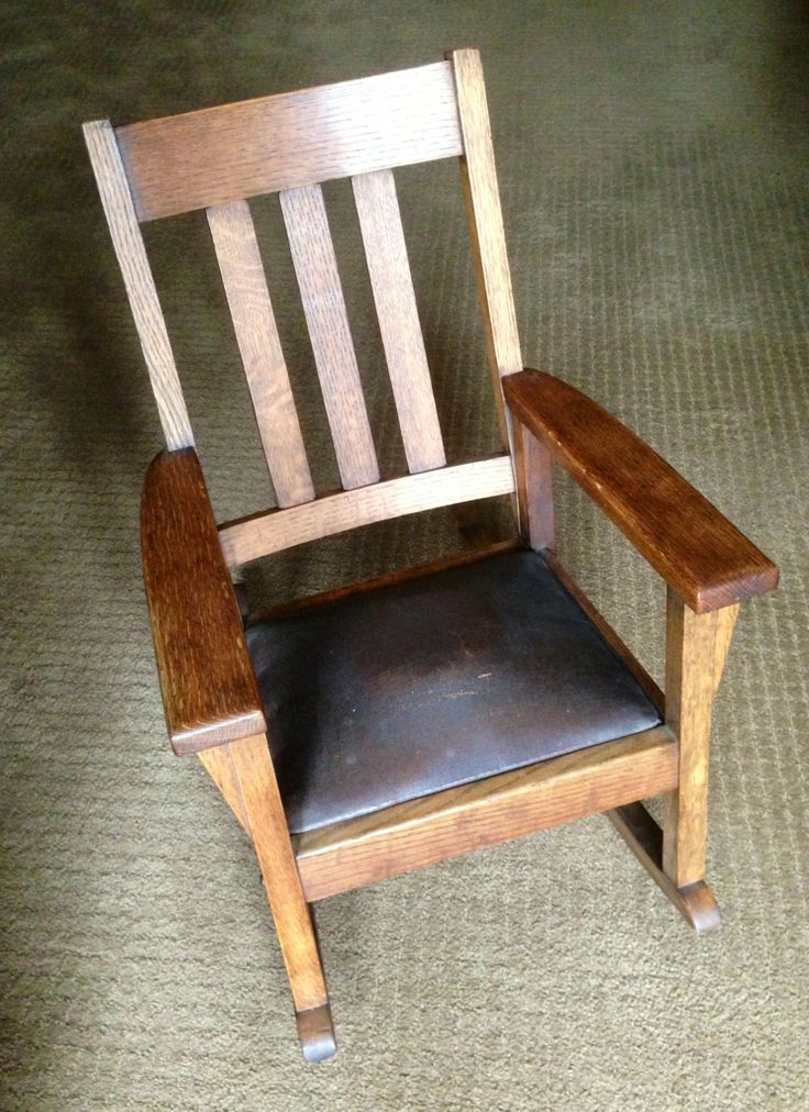 Child's Mission chair, another great find