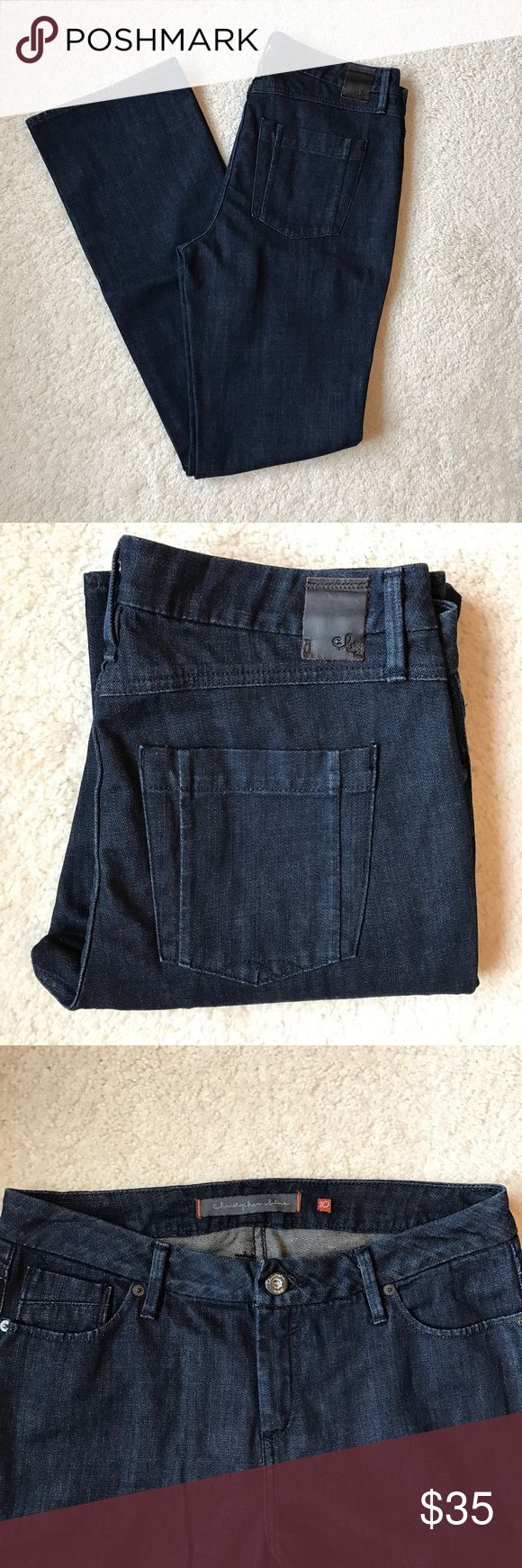 "Christopher Blue Bootcut Jeans Super comfy jeans from Neiman Marcus in excellent condition 💖 33"" inseam Christopher Blue Jeans Boot Cut"