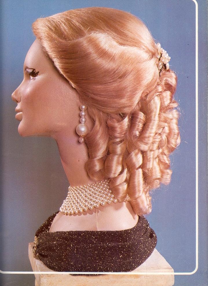 Cómo conseguir un peinados antiguos Imagen de tutoriales de color de pelo - Estilo Eugenia De Francia-1826-1920   Peinados antiguos ...