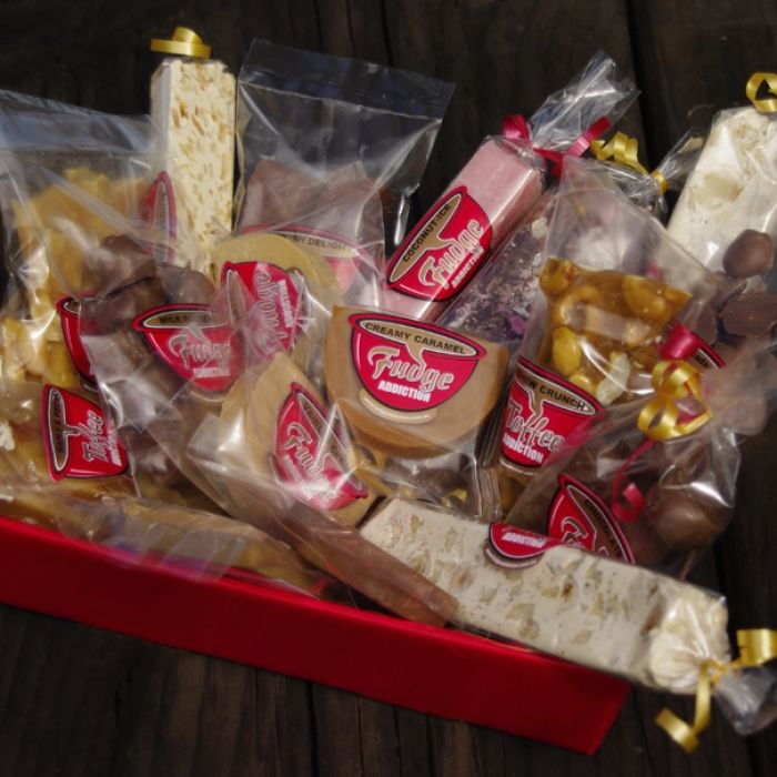 Smartarts Design-Fudge Addiction packaging.