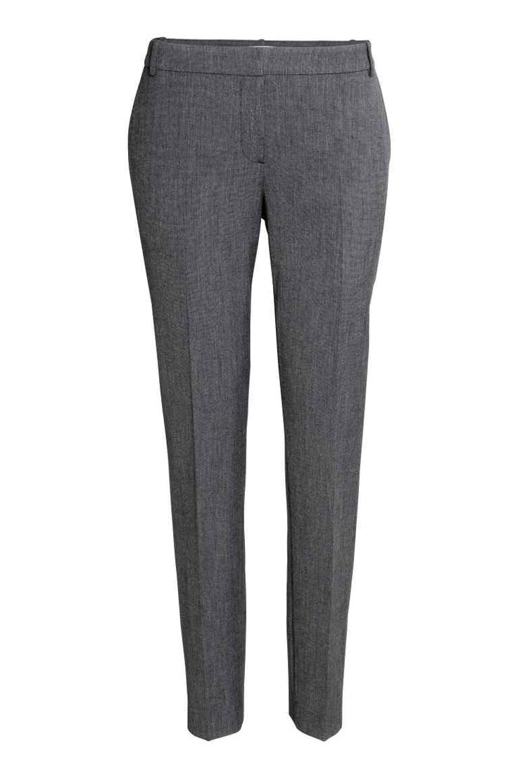 Pantaloni de costum - Gri-închis - FEMEI | H&M RO