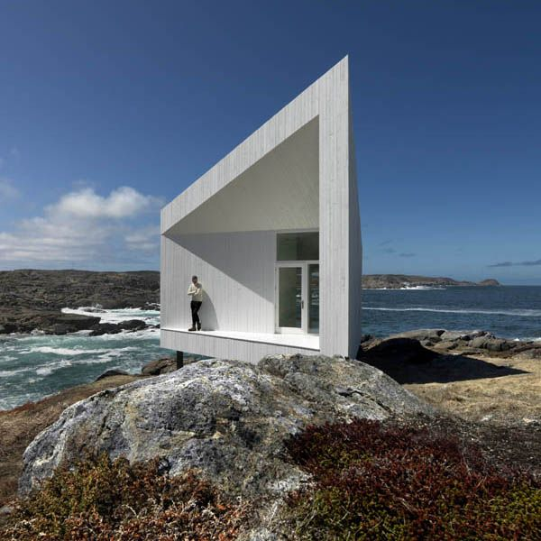 Squish Studio by Saunders Architecture on Fogo Island, Newfoundland, Canada