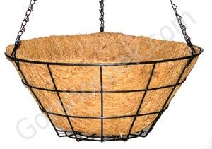 Коковита подвесная GD1-F 30 см Изделия из бамбука и кокосового волокна Горшки для цветов Кашпо Удобрения Балконные ящики Подставки под цветы Интернет-магазин Горшочек