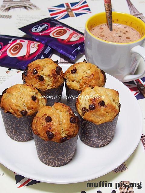 muffin pisang chocochips
