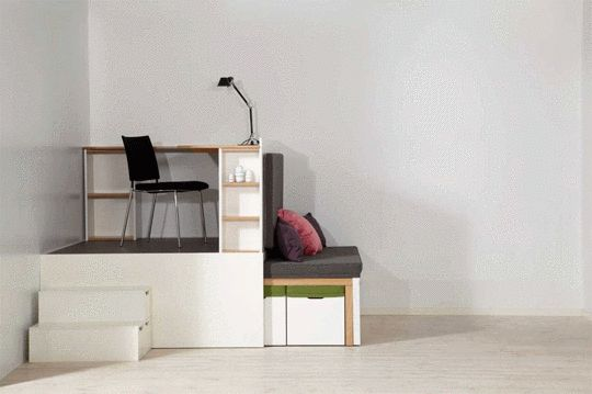 10 Mesmerizing GIFs of Small-Space Living | Apartment Therapy