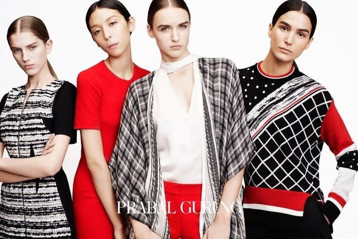 A look at the Prabal Gurung pre-fall 2015 campaign