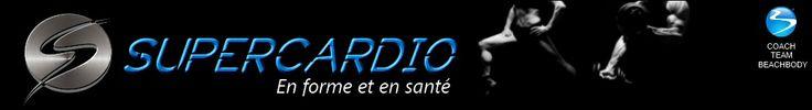 Nouveau logo supercardio.ca :  Insanity, Focus T25, P90X : Beachbody au Québec