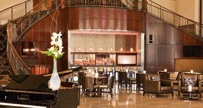 Hilton Nashville Downtown Hotel, TN - Lobby Bar