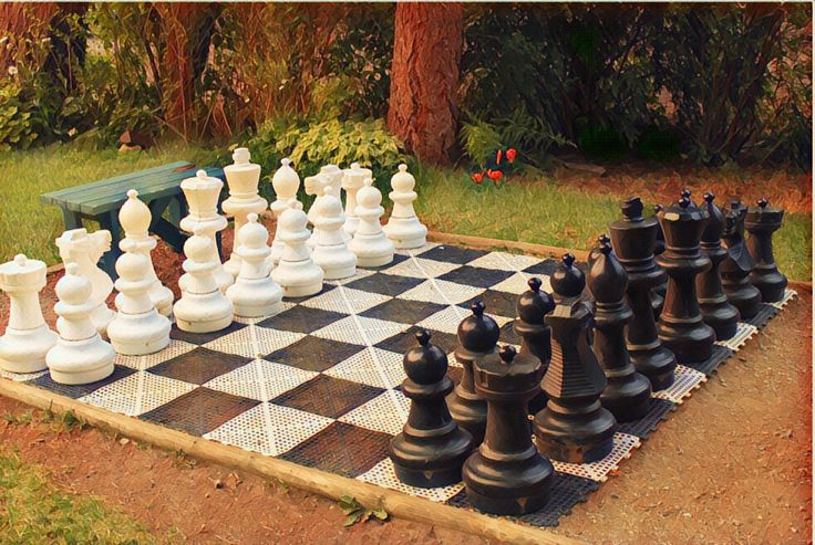 How about a giant game of chess? ❤️