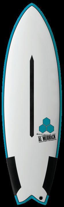 "Last one CI 5'7"" high Five Channel Island surfboard Al Merrick CARBON composite #ChannelIslands"