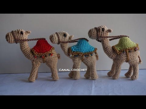 camello amigurumi tutorial - YouTube