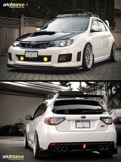Beautiful Subaru WRX Sti! #Subaru