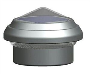 Solar Light Fence Cap for Chain Link Fence