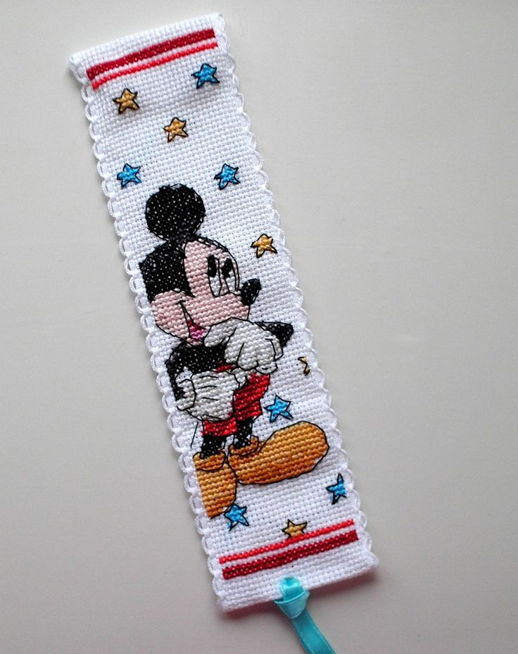 Anchor Disney Mickey Mouse bookmark.