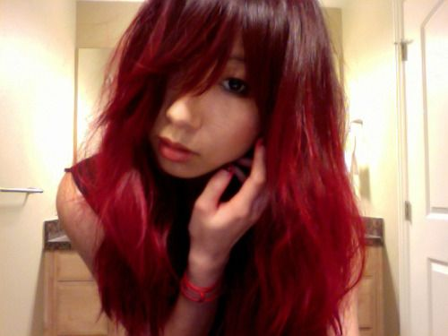 red short hair styles 17 best ideas about asian hair on 1876 | a6f649629a1876e3ec0db7564ffb1cde
