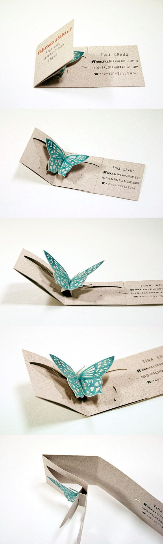 9311 best unique business card design images on pinterest card the pop up works without any glue or tape which makes them easier to unique business cardshome magicingreecefo Gallery
