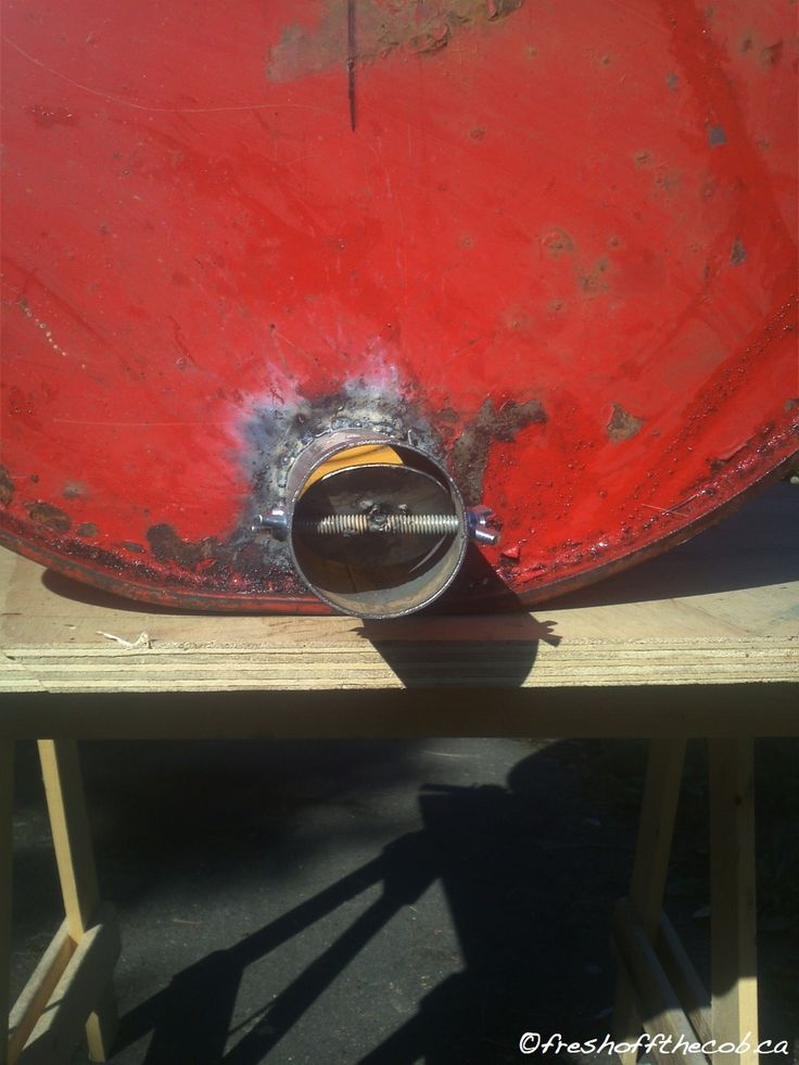 The Oil Drum BBQ and Smoker  