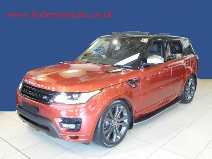 All New Shape Range Rover Sport Autobiography in Chilli Red