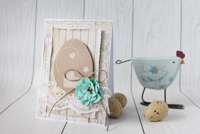 Easter card, Deski, deseczki