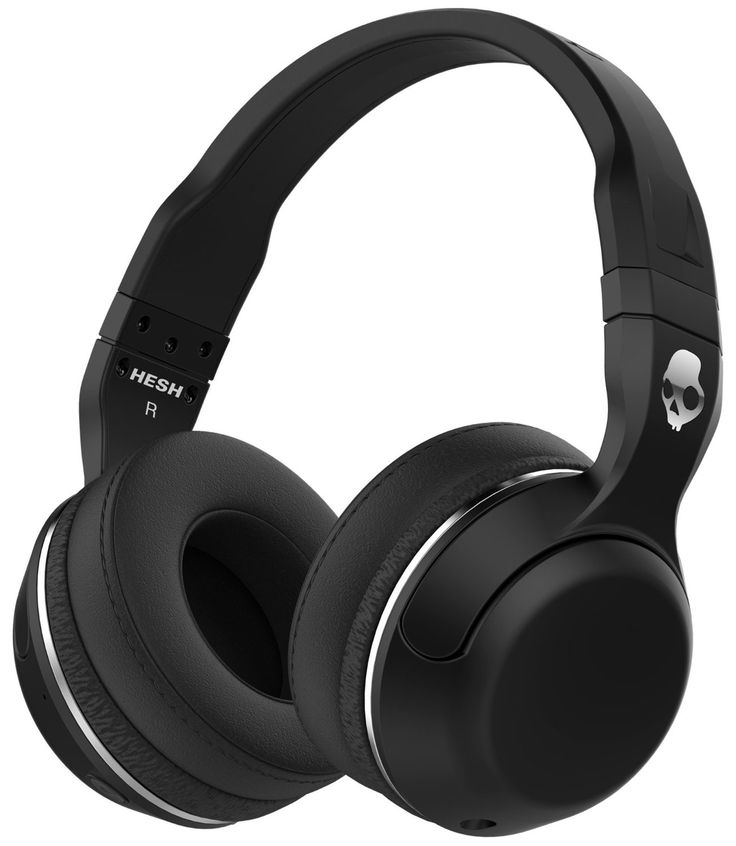 AmazonSmile: Skullcandy Hesh 2 Bluetooth 4.0 Wireless Headphones with Mic (Black): Electronics