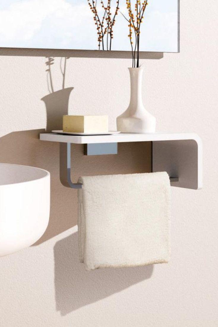 Giese Noka Handtuch Und Seife Griffbereit Haben Sie Wenn Sie Die Schicke Giese Noka Waschtischkonsole Waschtischkonsole Konsole Dekorative Aufbewahrungsboxen