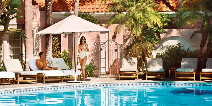 Hotel Bel Air, Los Angeles California    Hotel of the Rich & Famous