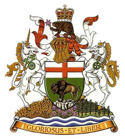 Manitoba -coat-of-arms like the horses too much colour and don't like the beaver on top but the style is great