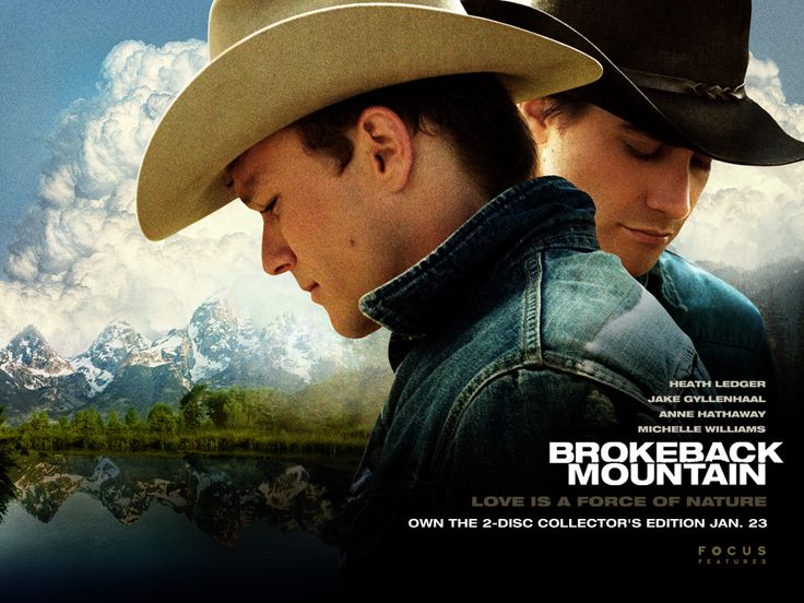 Brokeback Mountain (2005);   Director: Ang Lee; Stars:  Heath Ledger, Jake Gyllenhaal, Randy Quaid,..