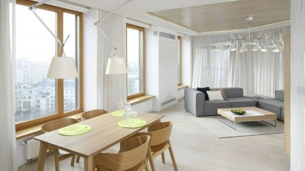 Kleines Wohnzimmer Mit Essbereich Einrichten   Tipps Der Freshideen    Esstisch Für Kleines Wohnzimmer