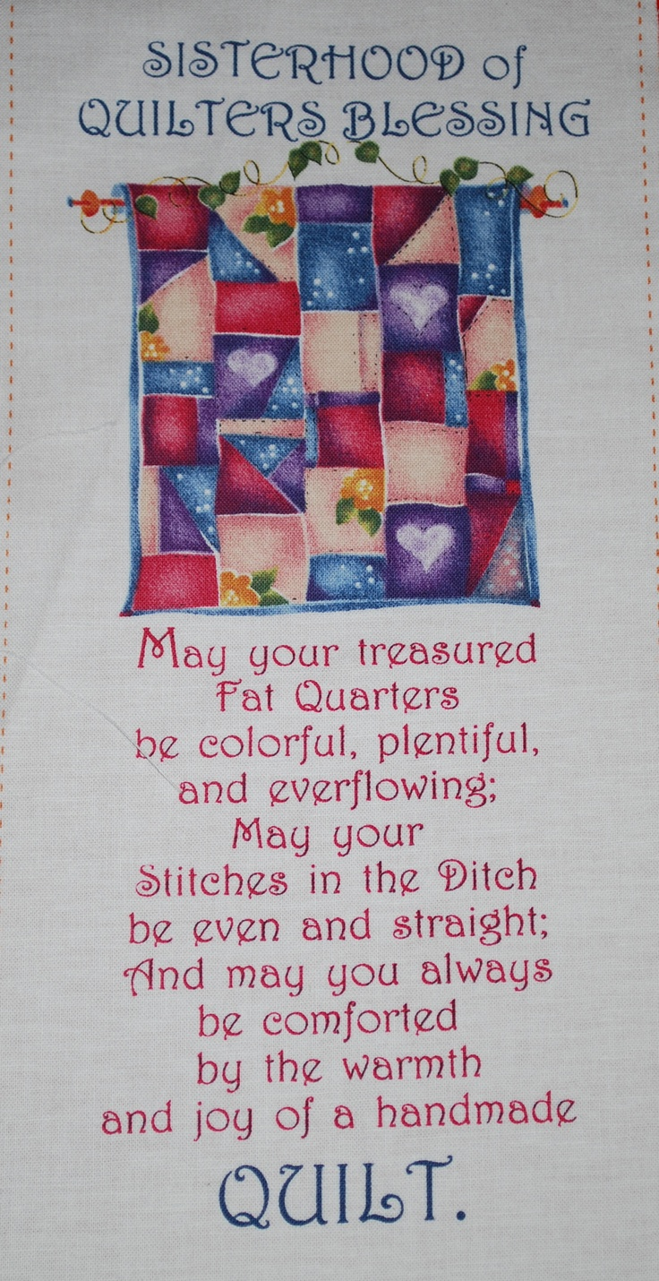 105 best quilt sayings images on Pinterest | Quilting quotes, Sewing ...