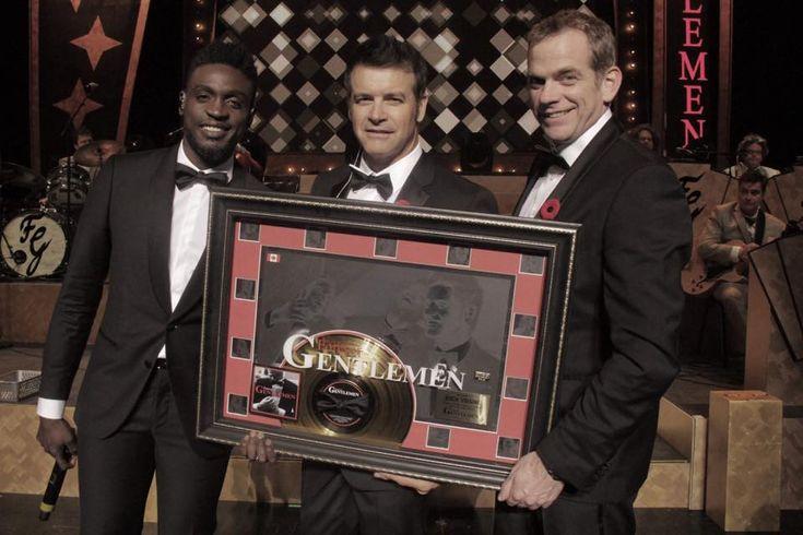Un disque d'or pour Forever Gentlemen | HollywoodPQ.com