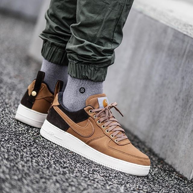 Carhartt x Nike Air Force 1 | Nike air force, Nike air force ...