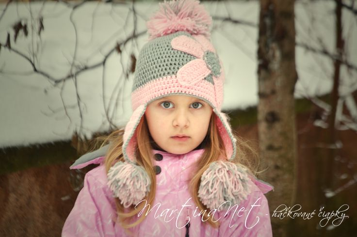 MartinaNet - háčkované čiapky na zimu