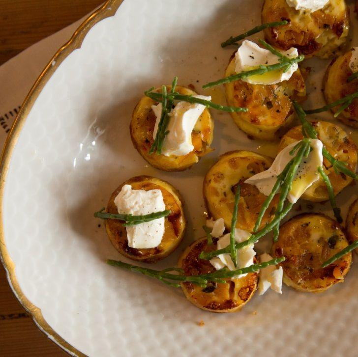 Madmuffins med søde kartofler