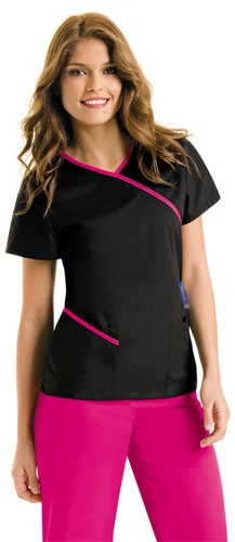 scrubs that aren't ugly...maybe not HOT PINK though...
