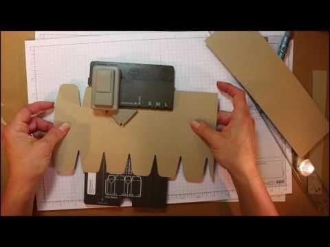 Tutoriel - Boîte Hexagone avec la Planche Insta' Pochette de Stampin' UP… www.paperpassionpapier.ca