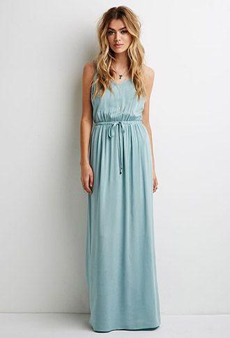 V Neck Cami Maxi Dress Forever 21 2049258016 Spring Summer