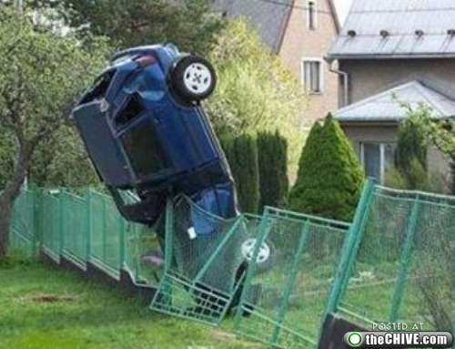 crazy car crashes 5 Car crashes that beg the question, how did they do that? (31 Photos)