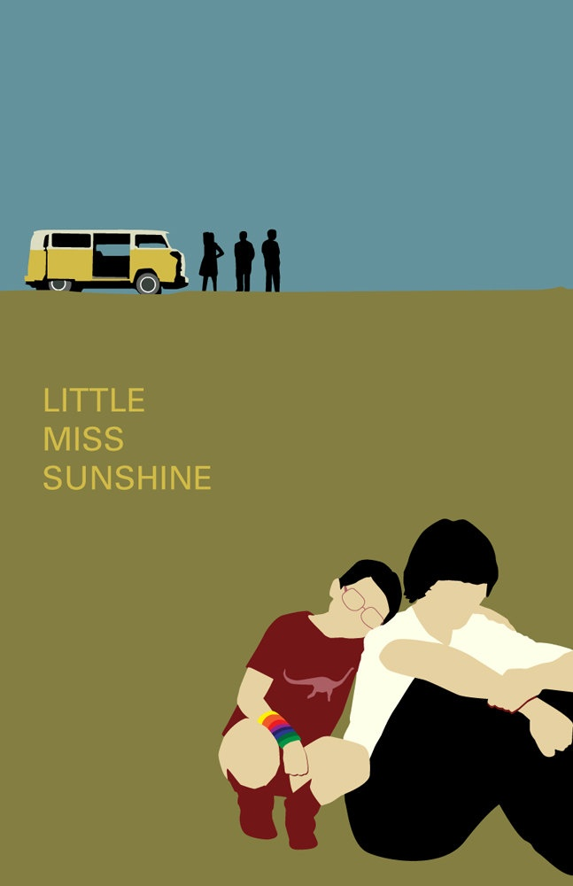 Little Miss Sunshine minimalistic poster