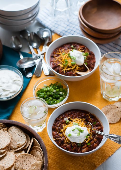 Slow Cooker Recipe: Award Winning Three Bean Chili Deluxe